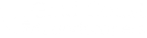 Gold Coast Landscapers Logo white